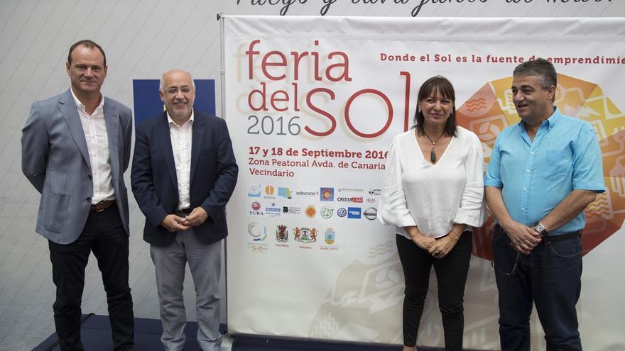 Presentación de la cuarta edición de la Feria del Sol.
