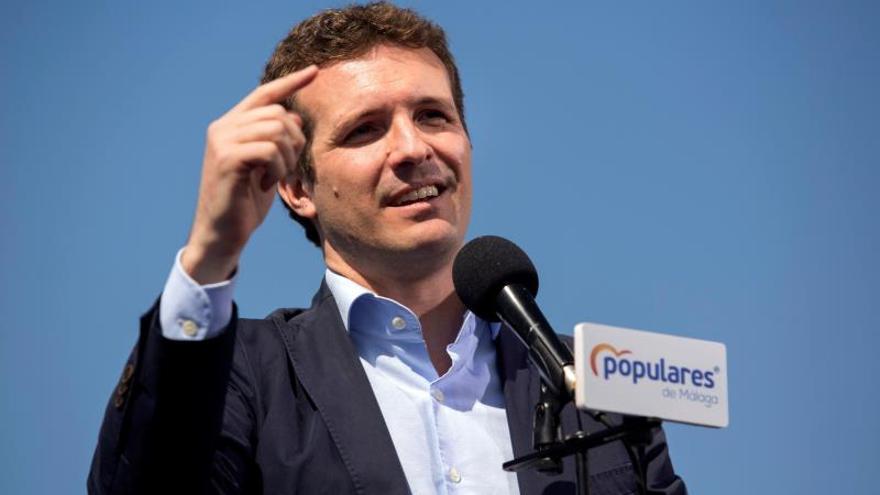 Casado plantea el 28A como un plebiscito para rescatar a España del independentismo