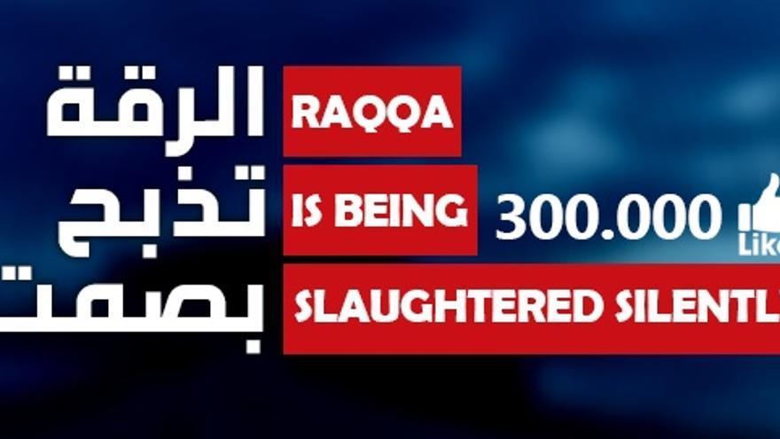 Facebook oficial de los activistas sirios que se enfrentan al autoproclamado Estado Islámico