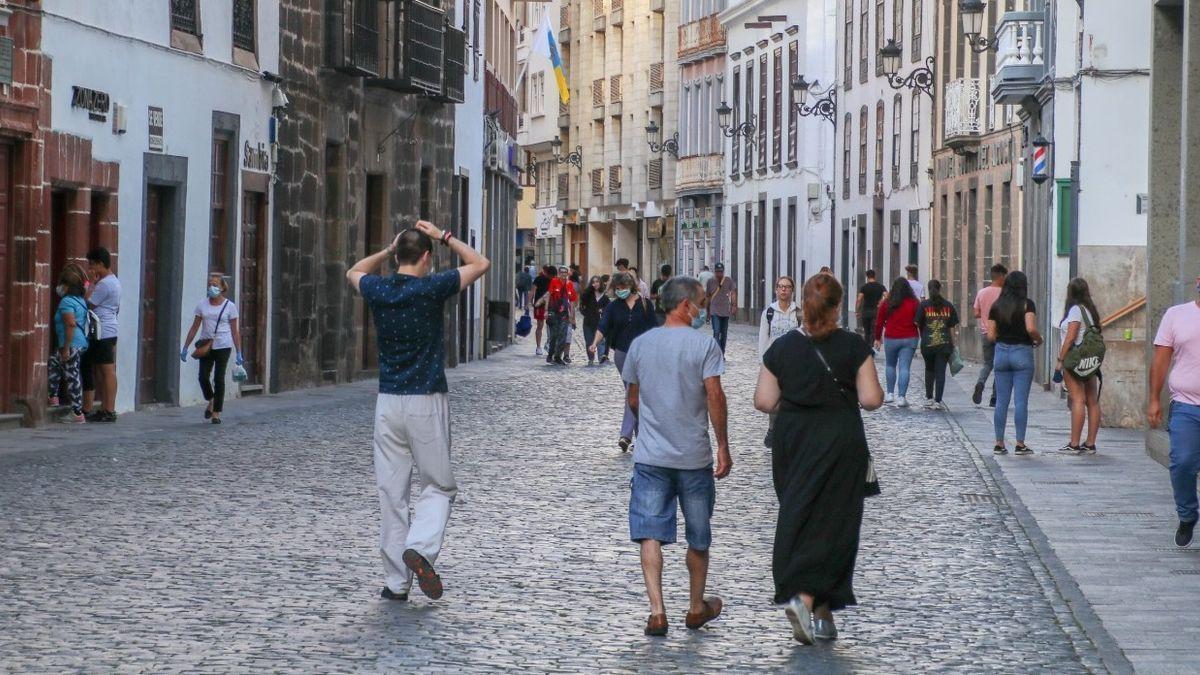 Imagen de archivo de la Calle Real de Santa Cruz de La Palma.