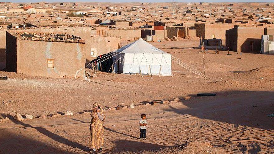 Campamento de refugiados de Dajla (Tinduf).