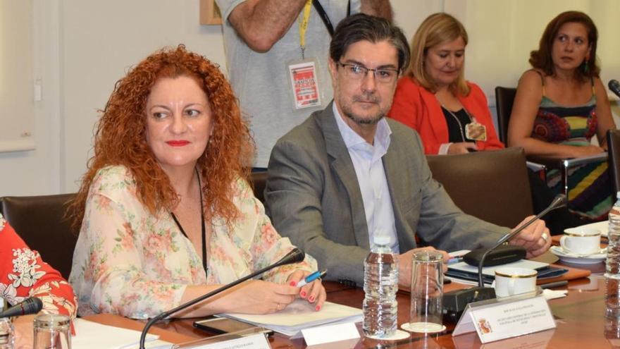 Juan Ávila, en pasado julio en la Conferencia Sectorial de Igualdad