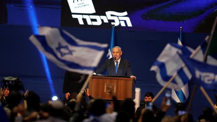 Netanyahu lidera un escrutinio que avanza lentamente