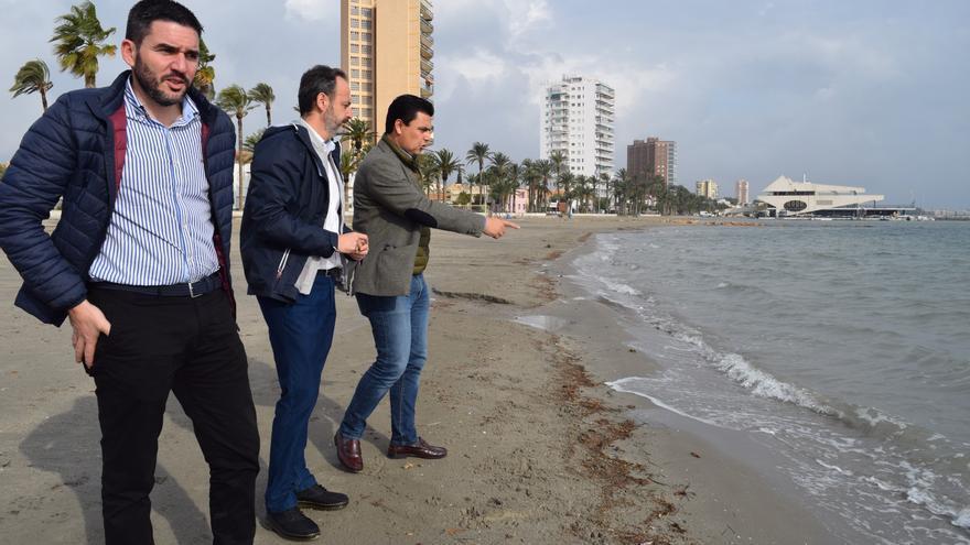 Medio Ambiente activa un protocolo para evaluar los efectos de las fuertes lluvias sobre el ecosistema del Mar Menor