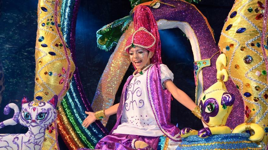 Elena Pérez Perestelo es la Reina Infantil del Carnaval de Los Llanos 2018.