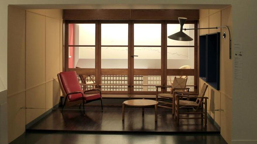 Una exposición viaja a través de la obra multidisciplinar de Le Corbusier
