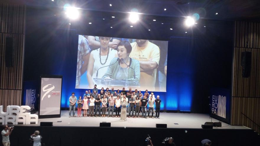 """Aramburu asume el liderazgo de LAB con el """"empeño"""" de construir una """"alianza"""" con ELA y un """"contrapoder"""" social"""