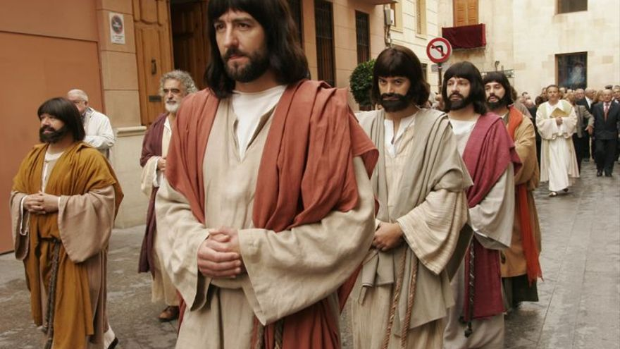 La procesión del 'Misteri d'Elx'