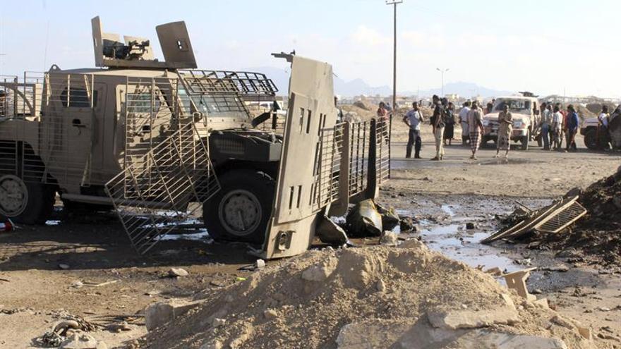 Al menos 14 muertos en un ataque contra fuerzas de seguridad en sur del Yemen