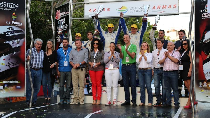 Imagen de archivo de la anterior edición del Rallye de Senderos de La Palma.