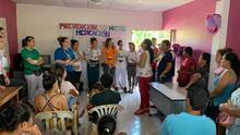 Grupos de sanitarios españoles de voluntariado en Ecuador.
