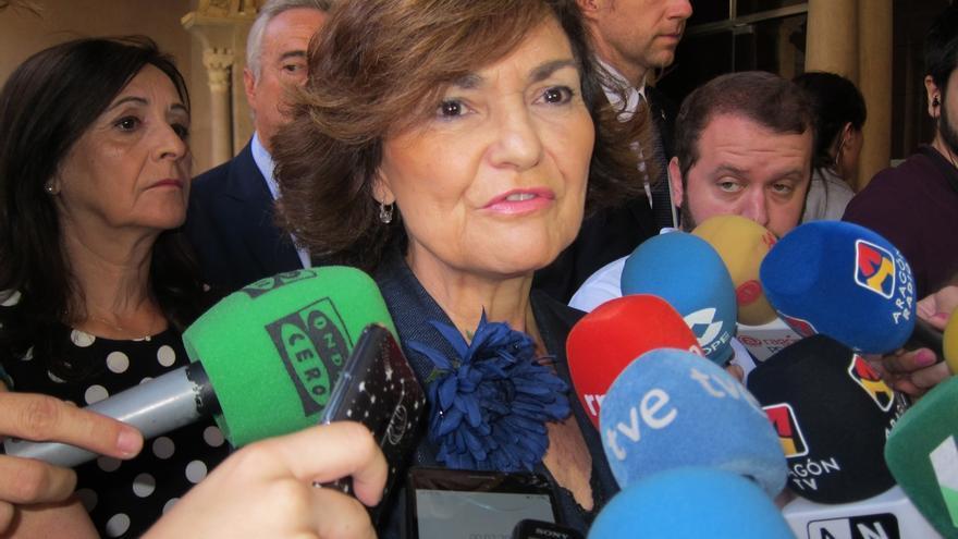 Calvo dice que se debe intentar un gobierno progresista, sin apoyo del independentismo, para no ir a otras elecciones