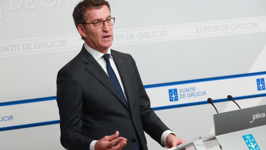 """Feijóo, """"tranquilo"""" con el pacto con Vox en Andalucía, cree que el PP """"no da ni un paso atrás"""" en violencia machista"""