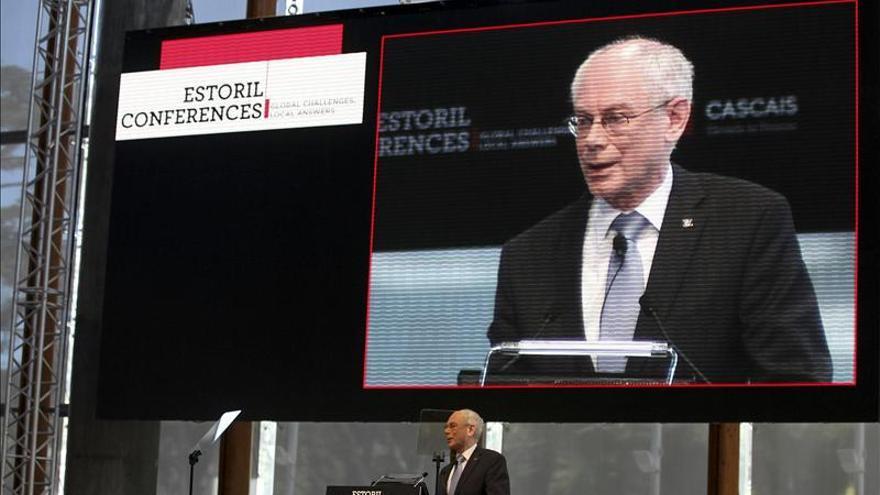 Van Rompuy ensalza el valor de los gobiernos por aprobar cortes impopulares