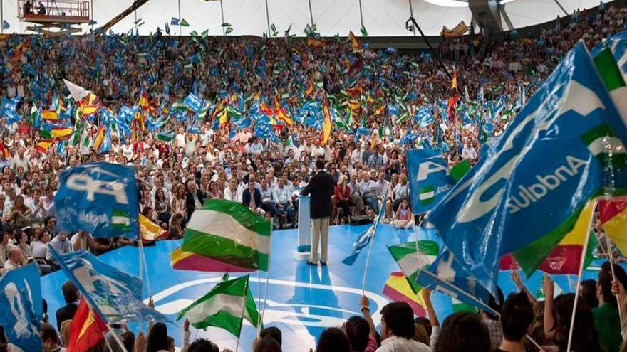 Mitin de Mariano Rajoy /EFE