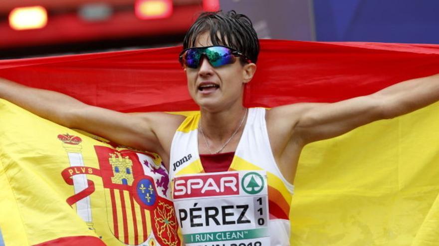 María Pérez, atleta española del año