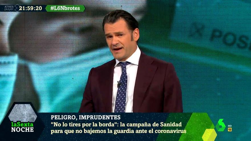 Iñaki López, muy enfadado en 'laSexta Noche' con los imprudentes que organizan 'fiestas covid-19'