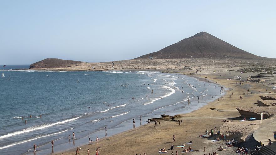 Playa de Leocadio Machado, en El Médano