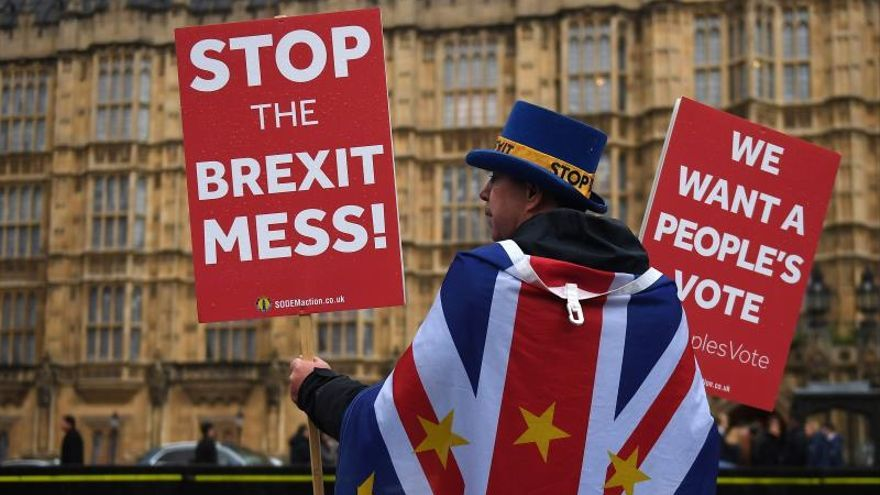 """People's Vote cree que otro referéndum del """"brexit"""" es más probable que nunca"""