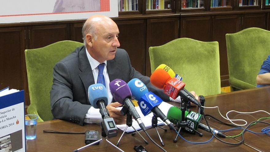 Vicente Rouco, presidente del Tribunal Superior de Justicia CLM / Foto: Albacete Capital