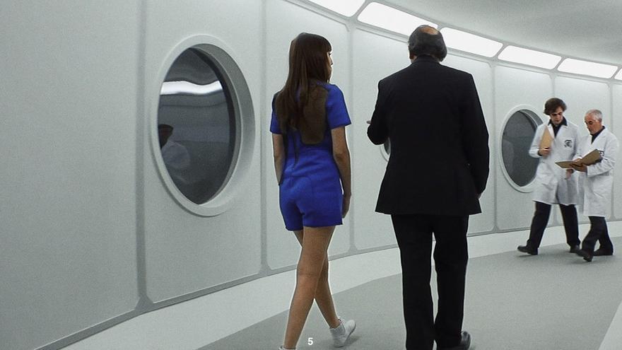Un pasillo de ocho metros simula toda la nave espacial (Imagen: cedida por Calle Falsa 123 Producciones)