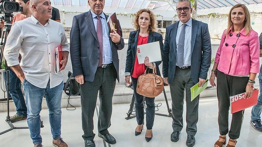 """PRC prioriza avanzar en los presupuestos a los ceses y el PSOE dice que Sodercan a Industria """"no va a ir"""""""