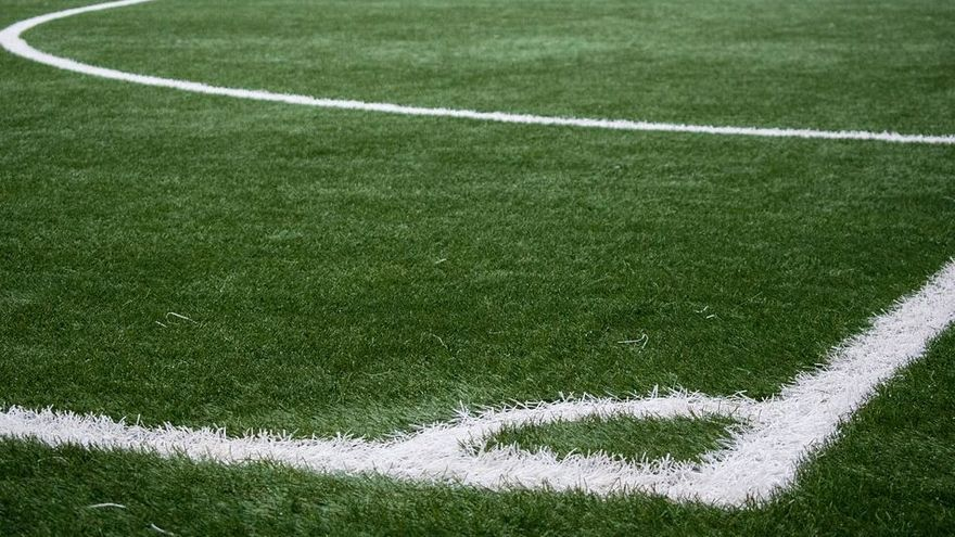 Imagen de archivo de un campo de fútbol.