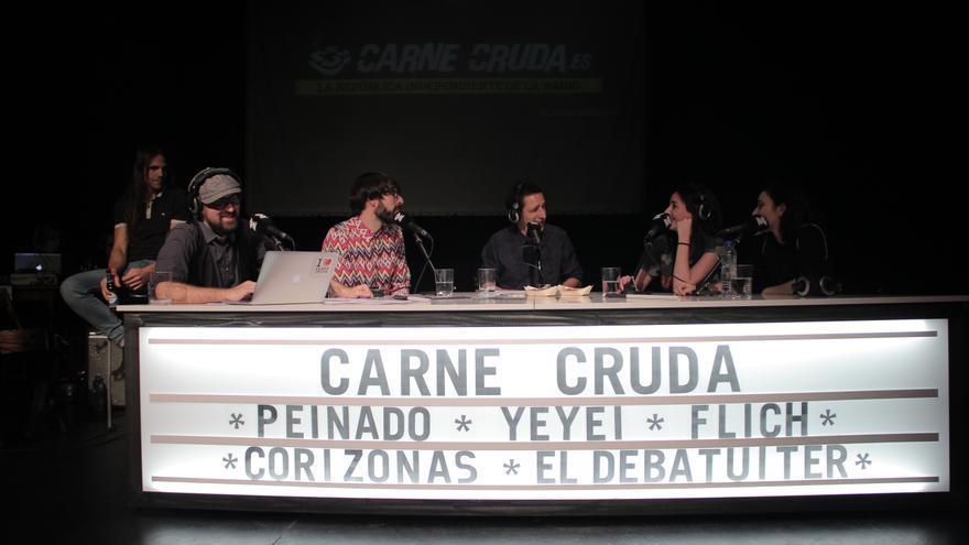 Debate del 21D con Quique Peinado, Marta Flich Yeyei Gómez