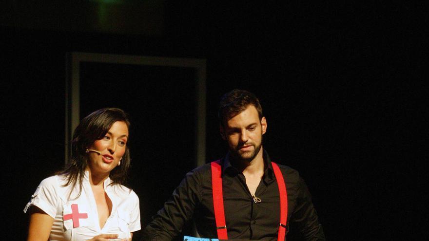 María Minaya y Rafa Alarcón, coordinadores del Circuito Café Teatro San Miguel Valencia.