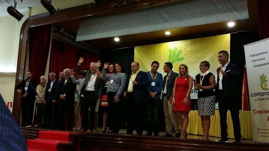 Acto de clausura del III Congreso Insular de Compromiso por Gran Canaria.