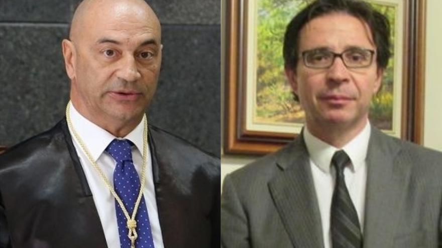 Antono Doreste y Pedro Herrera