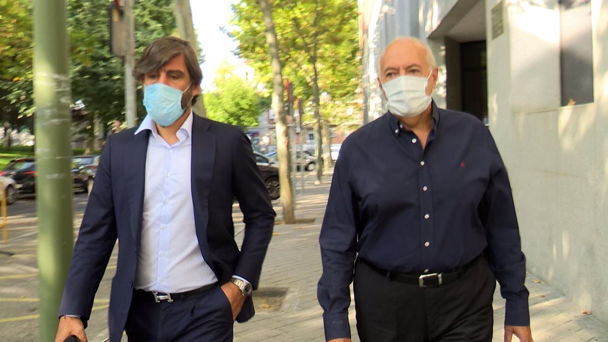 José Luis Moreno con su abogado