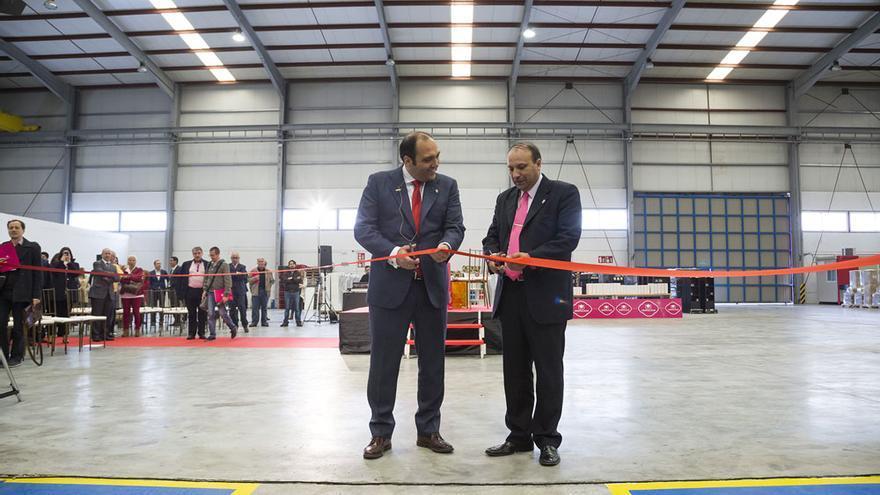 Inauguración de la planta de Cristalinas en Ontígola (Toledo)