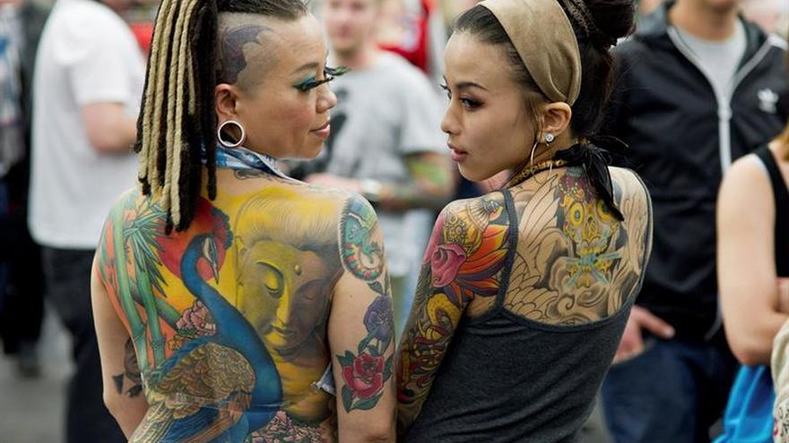 Más de 300 tatuadores se dan cita desde hoy en Salón del Tatuaje de Barcelona