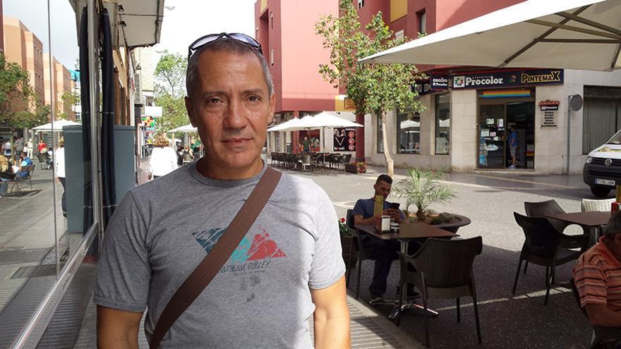 El miembro de Podemos, Adolfo Padrón.