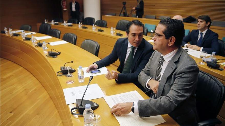 PP, PSPV y Compromís piden apoyo al Congreso para reformar el estatuto valenciano