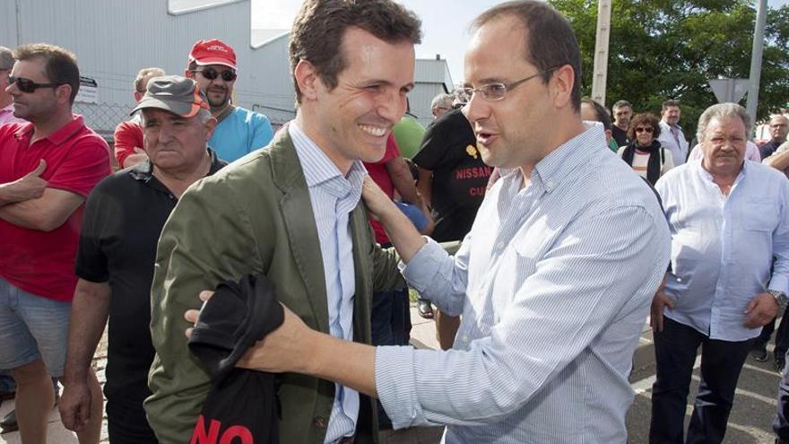 Pablo Casado se muestra optimista ante un posible acuerdo con PSOE y C's
