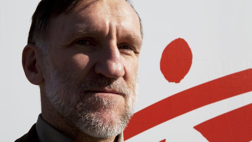 José Antonio Bastos, presidente de Médicos Sin Fronteras España/ MSF