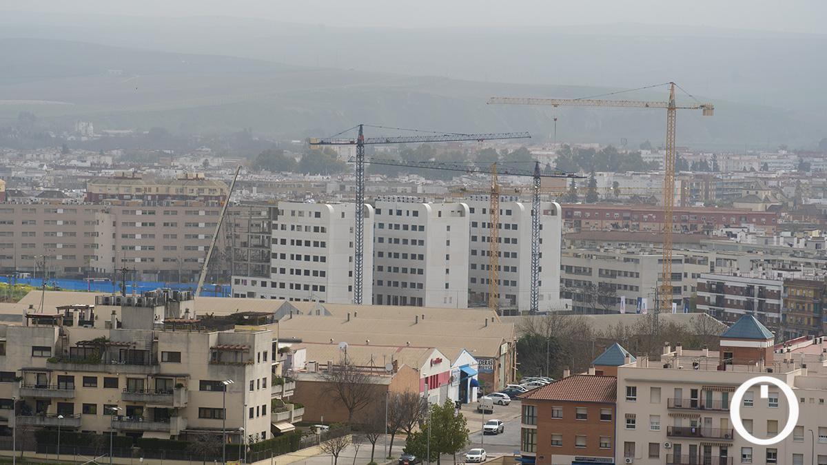 Una masa de polvo sahariano cubre Córdoba