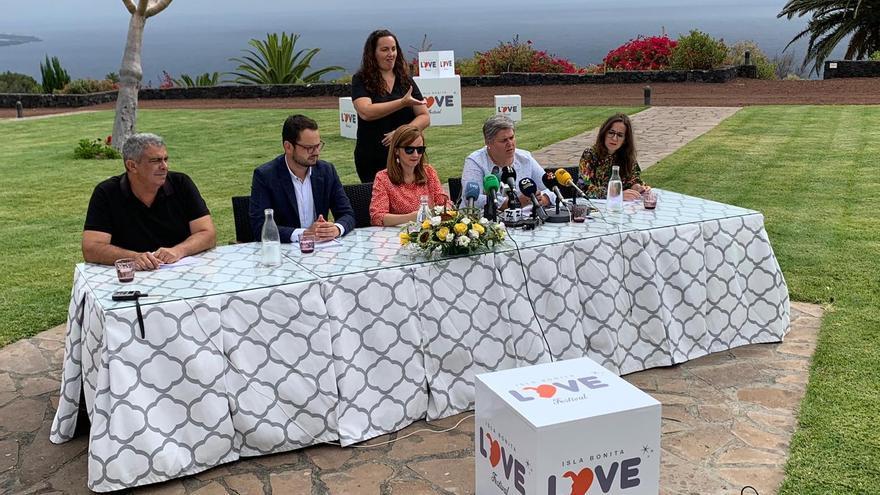 Presentación de la cuarta edición del Love Festival.