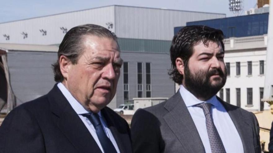 Vicente Boluda Fos, presidente del grupo, y su hijo Vicente Boluda Ceballos.