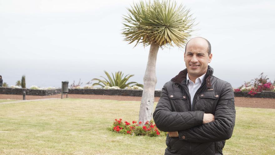 Ángel Tomás Hernández, concejal portavoz del PP en el Ayuntamiento de El Paso.