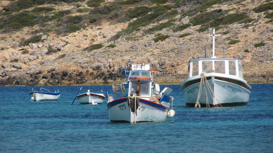 Barcas de pescadores en Kalotaritisa. Susanne Tofern (CC)