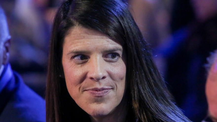 La excandidata del PP a la Presidencia de Cantabria, Ruth Beitia. | RICARDO RUBIO