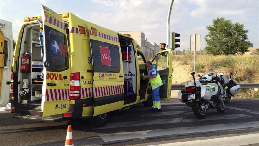 Muere tras chocar contra un árbol en la carretera M-219, en Pozuelo del Rey
