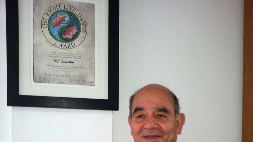 Raji Sourani, director del PCHR en Gaza/ Isabel Pérez