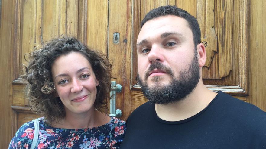Julia Trías Jurado y Andrés García Berrio.