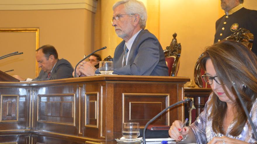 Joan Lerma, en el senado.