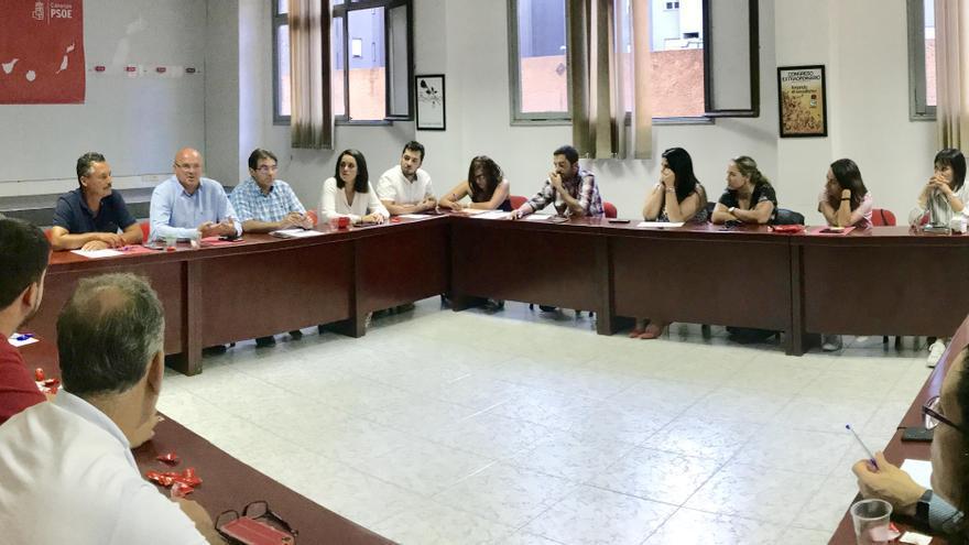 Reunión de la Comisión Ejecutiva Insular del PSOE de La Palma.
