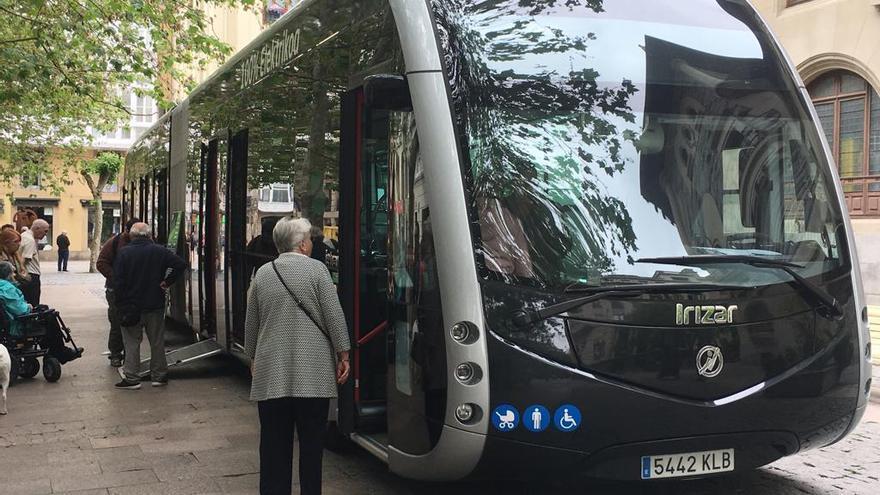 Autobús eléctrico inteligente que circulará por Vitoria a partir del segundo semestre de 2020